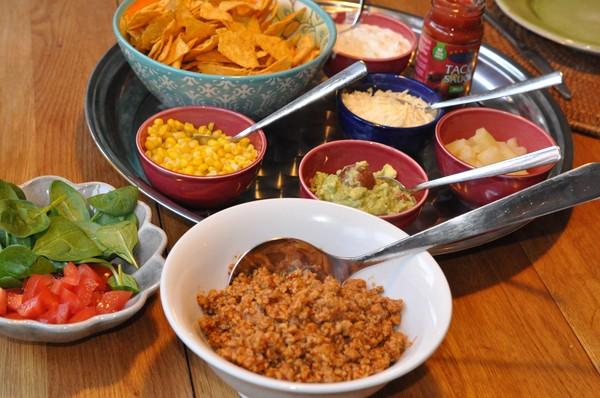 tacos tillbehör