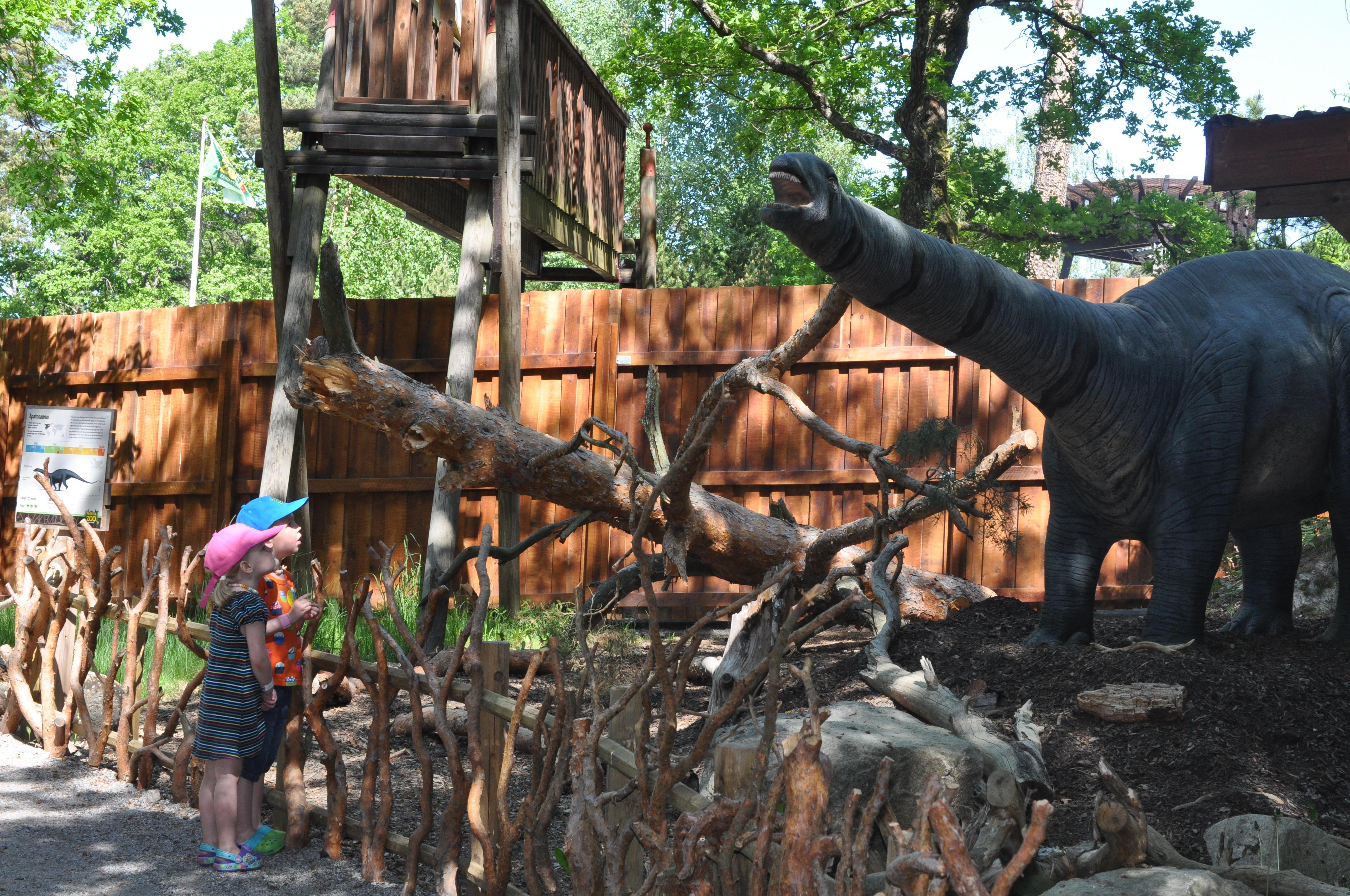 parken zoo dinosaurier