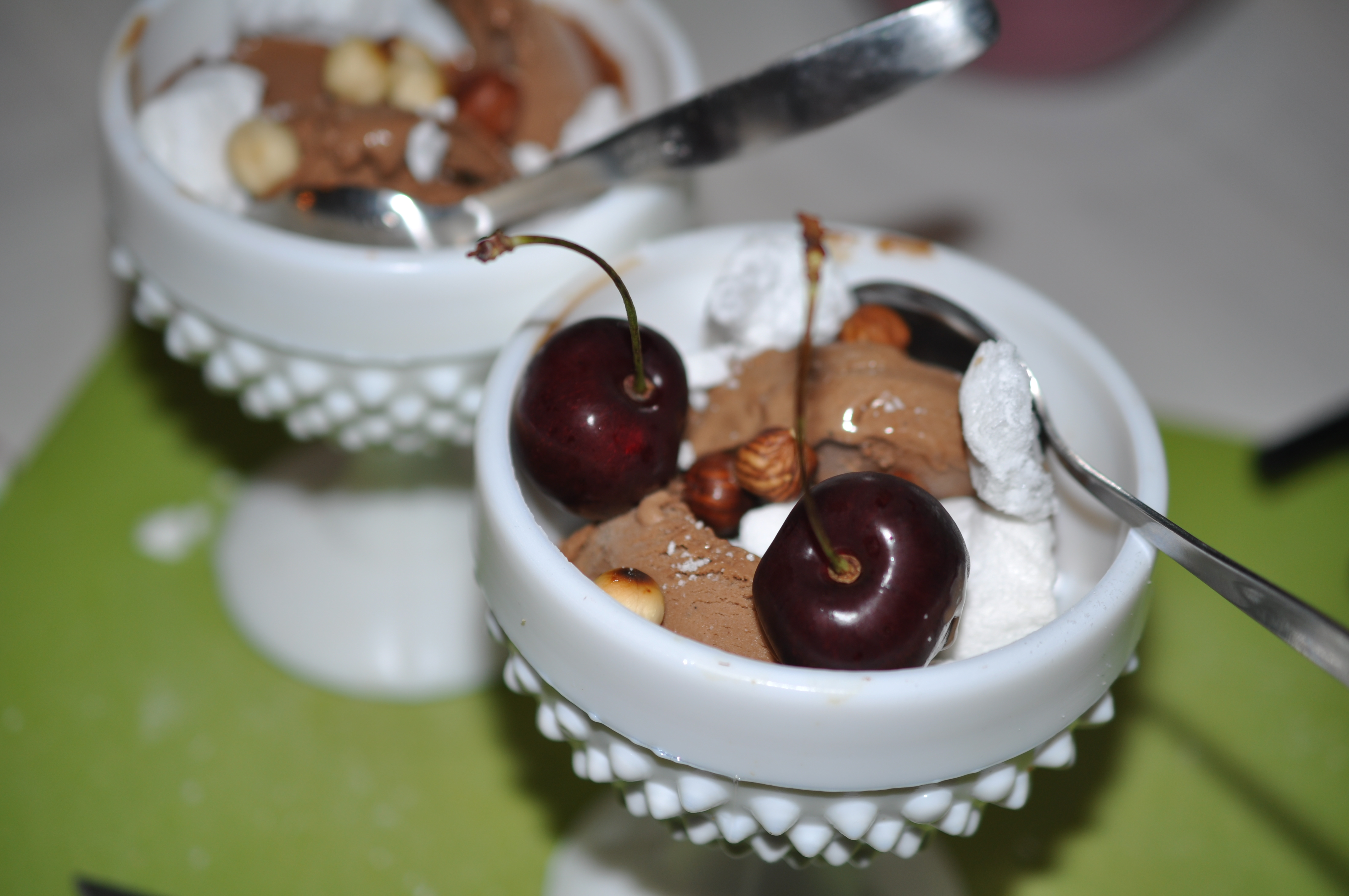 choklad  nutella glass