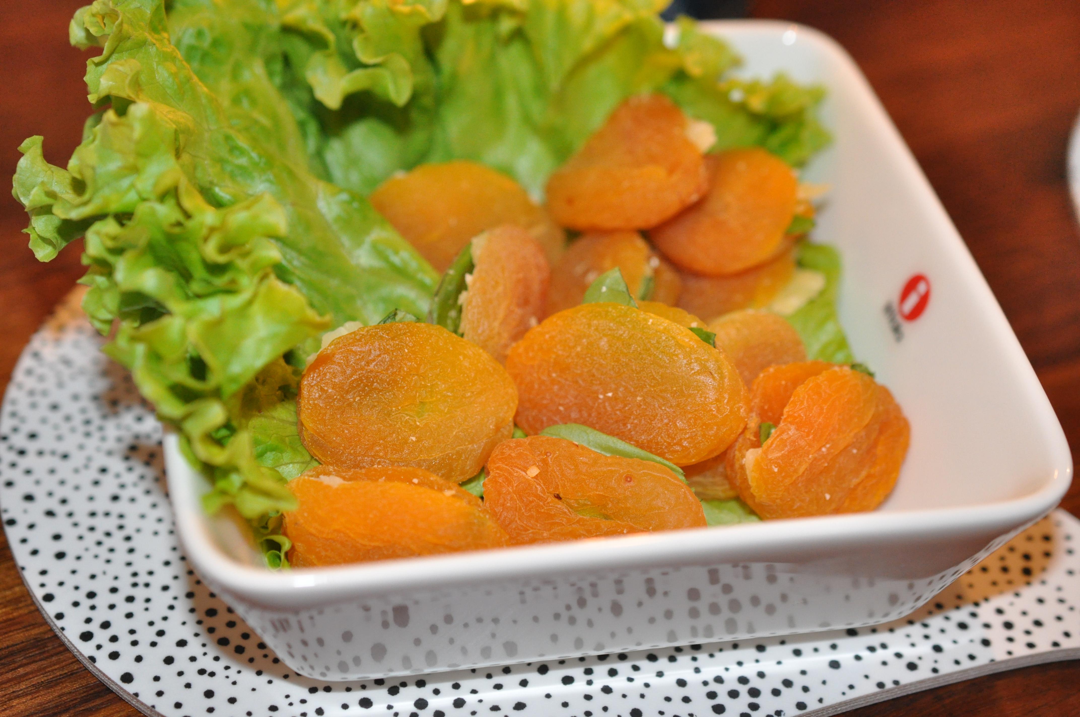 aprikoser förrätt