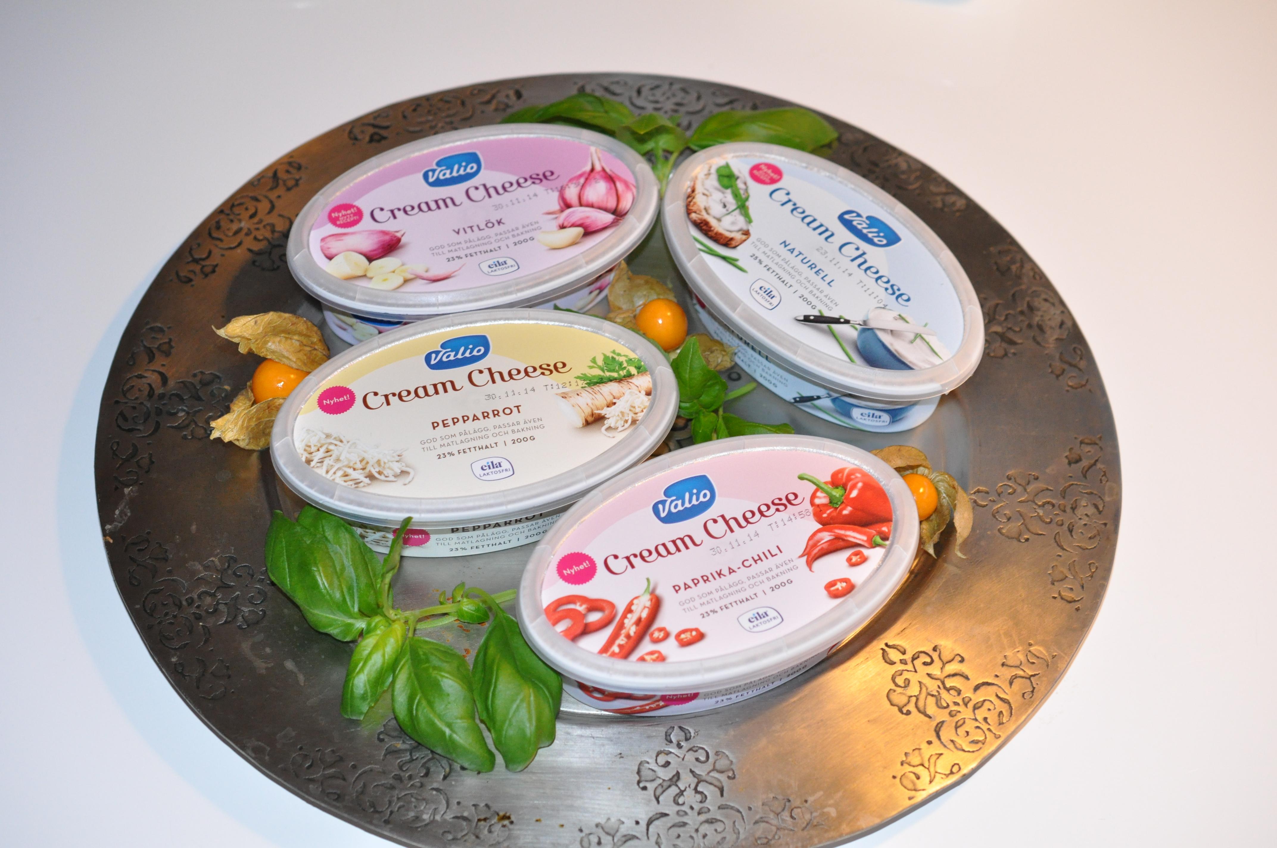 valio laktosfri cream cheese
