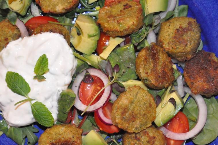 falafel mynta tsatsiki