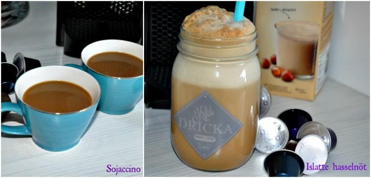Kaffe iskaffe nespresso