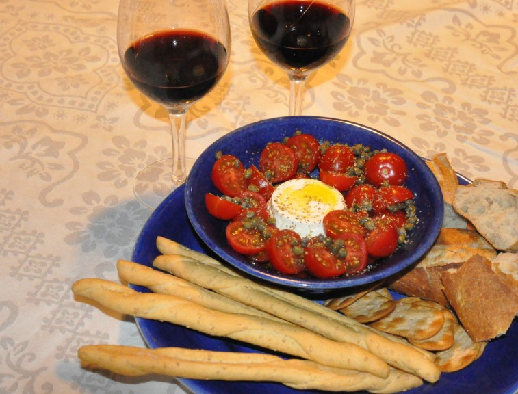 Ricotta tomater olivolja