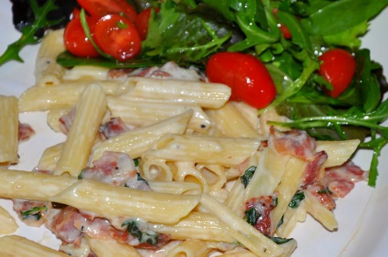 pasta med mynta