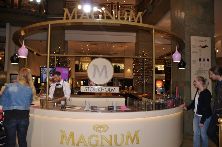 Magnum pop up store