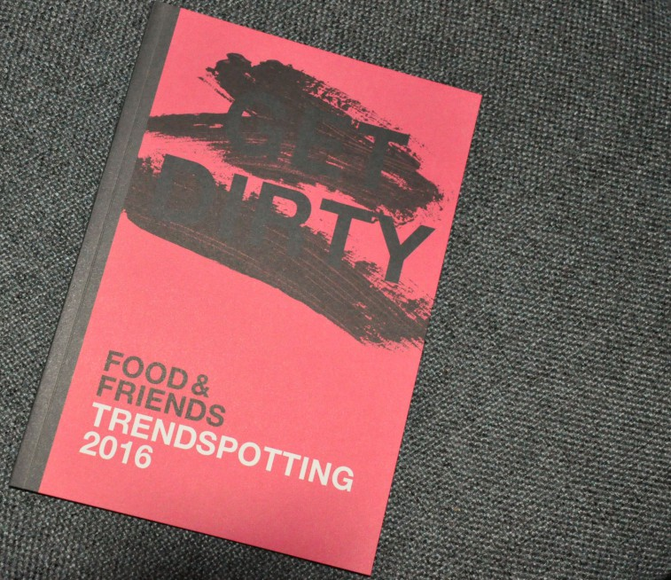 Food and friends Trendspotting 2016