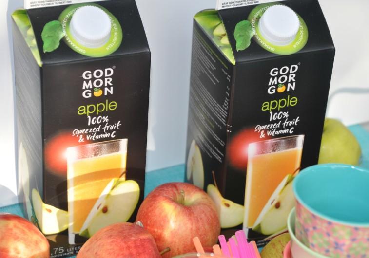 God morgon juice familjeklassiker apple