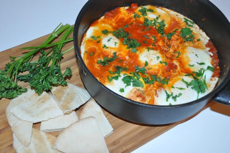 Shakshuka dish