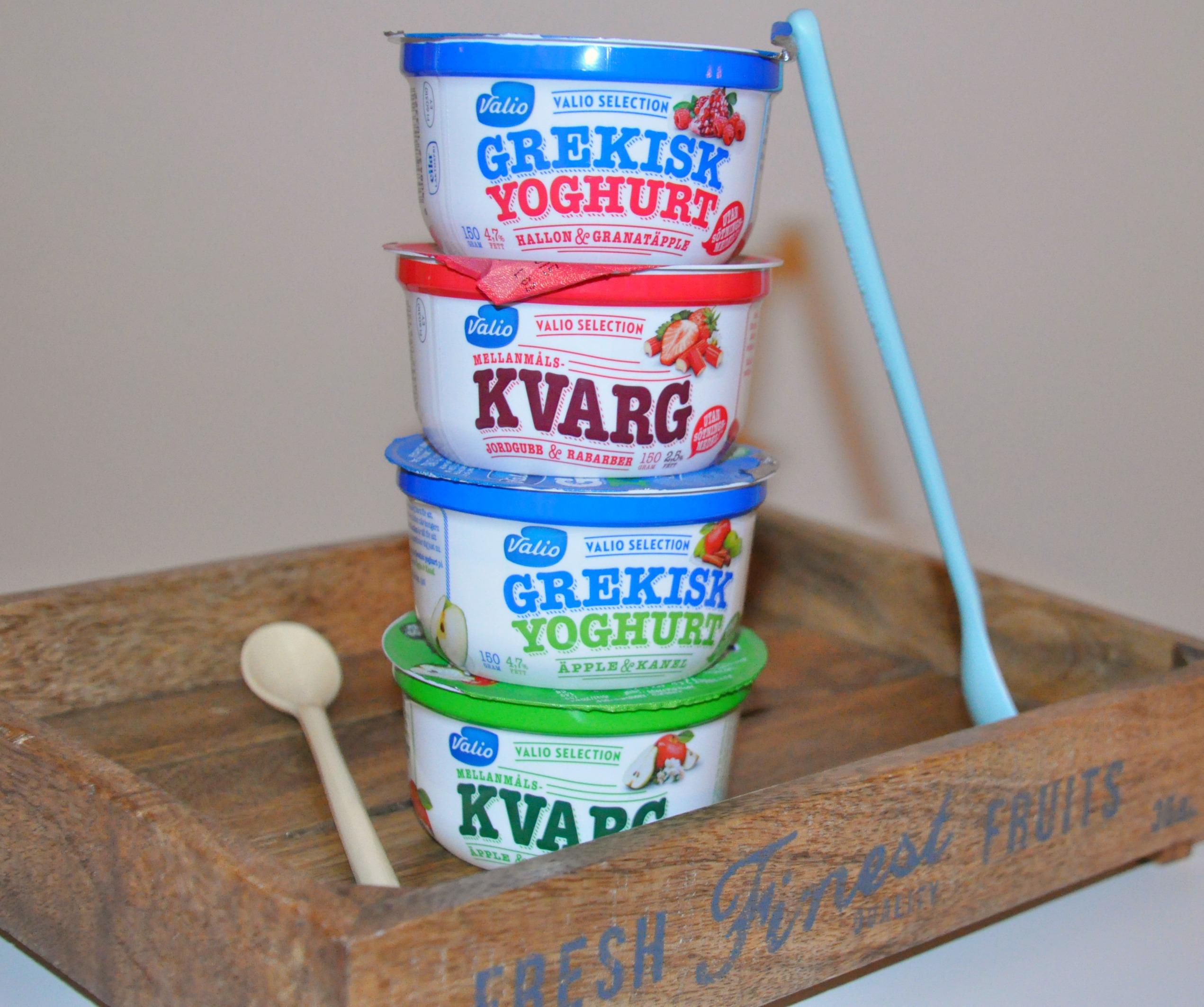valio kvarg yoghurt