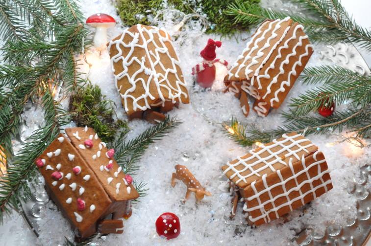 Pepparkakshus gingerbread house