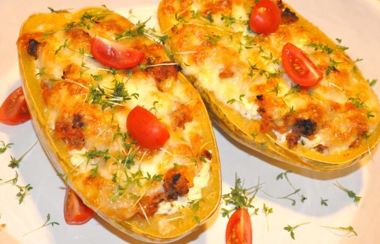 Spaghettipumpa lasagne