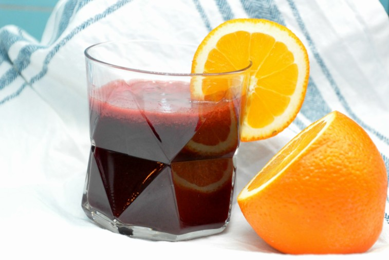 juice juicing rödbeta apelsin ananas grönkål