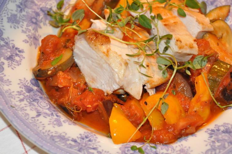 Bosarp kyckling ratatouille