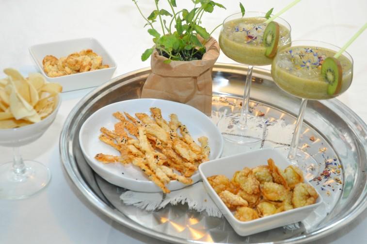 Kiwi daiquiri mocktails tortellini snacks oststänger helg