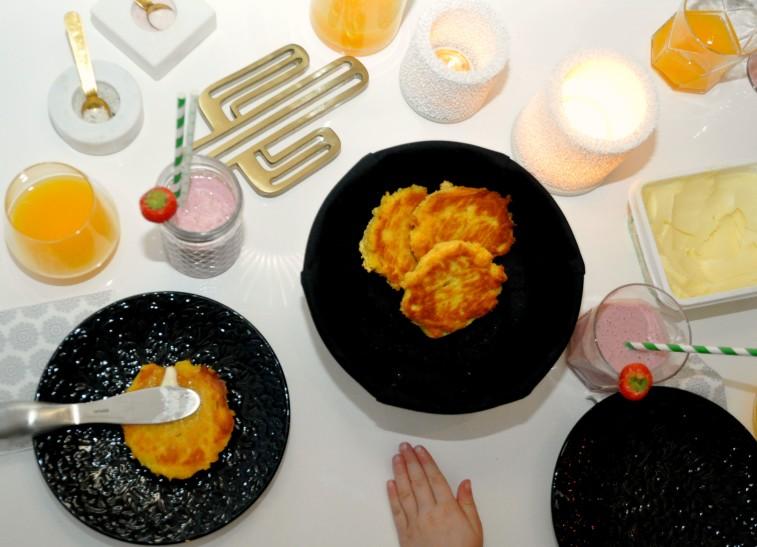 Majsscones frukost deluxe