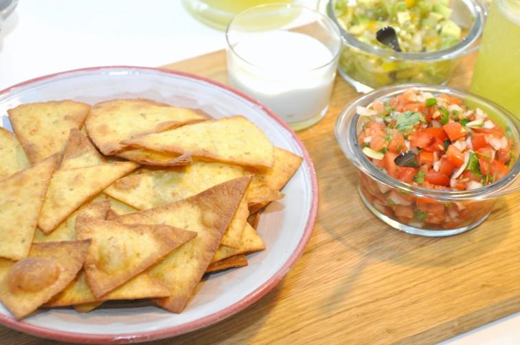 Tortillachips tortilla chips homemade