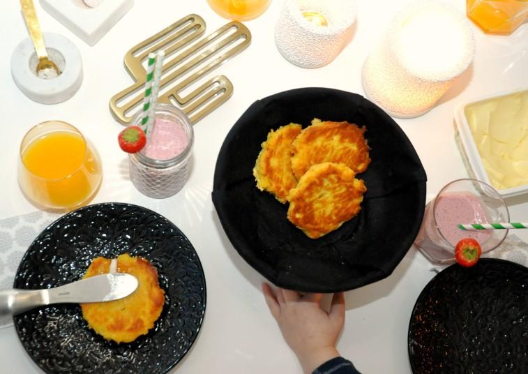 glutenfria majsscones