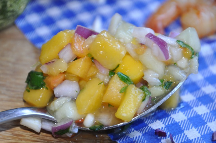 persiko mango salsa
