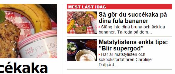 Aftonbladet banankaka