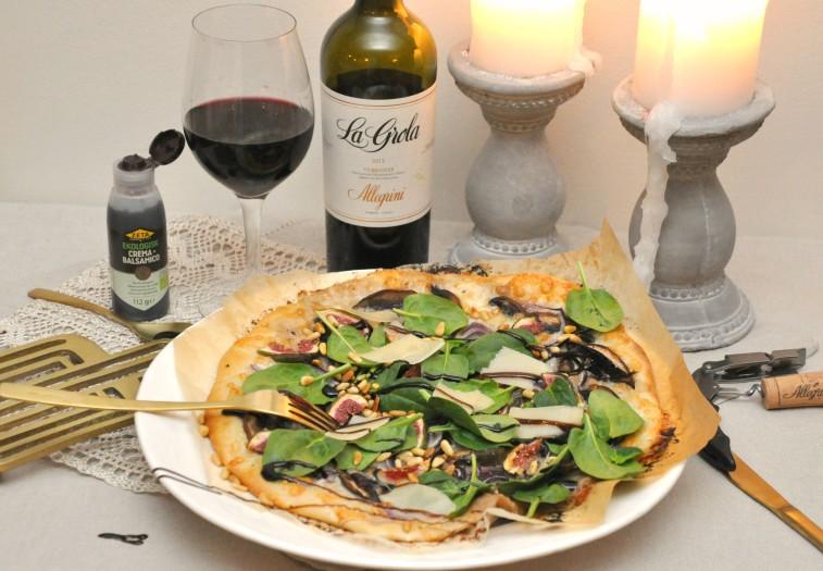 vit pizza fikon portabello crema di balsamico