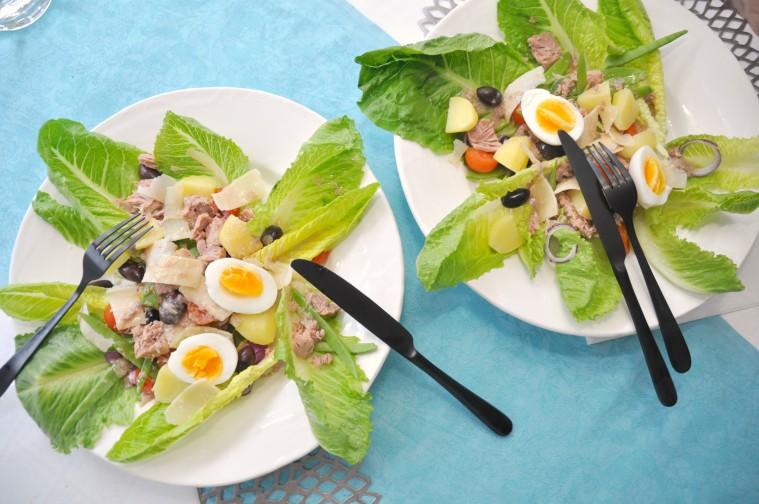 Sallad Nicoise tonfisk