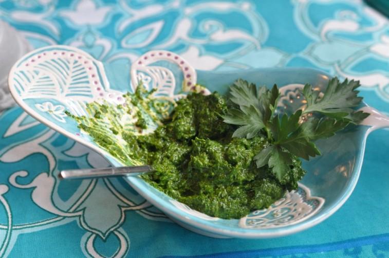 lammracks salsa verde påsk