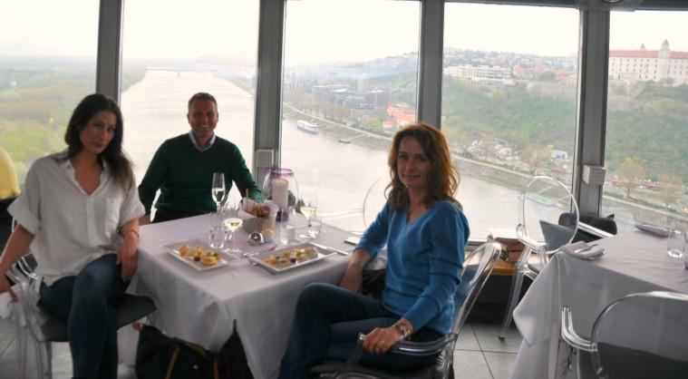 UFO Bratislava lunch
