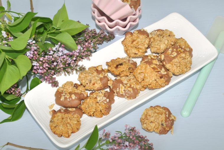 Cookies valnötter dadlar barn