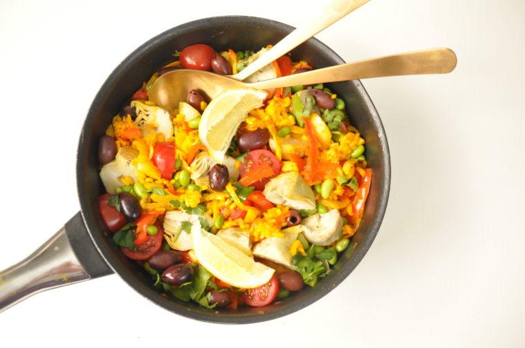 Vegetarisk Paella