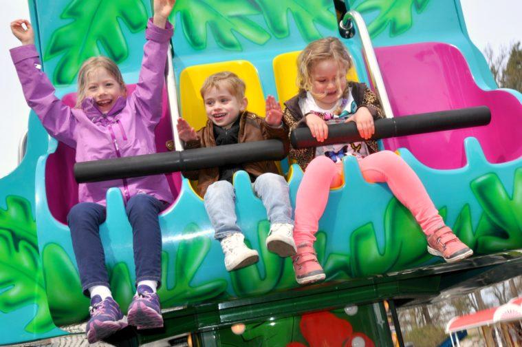 Eskilstuna parken zoo smygpremiär karusell