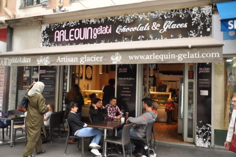 Bästa glassen i Nice Arlequin Gelati 9, avenue Malaussena