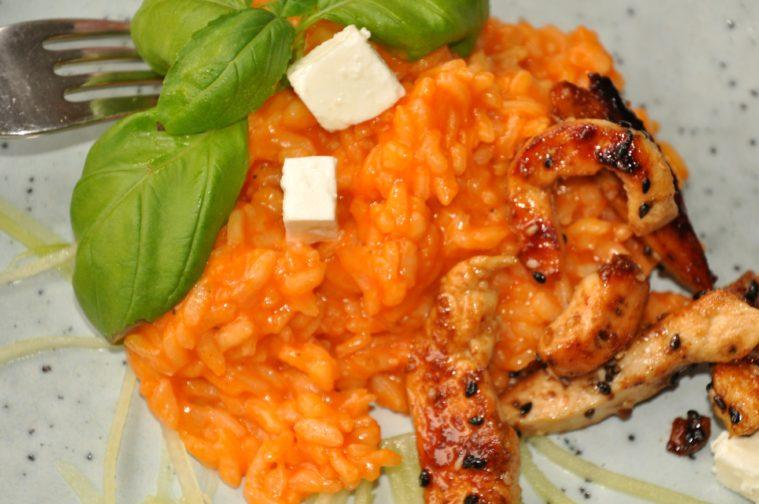 Tomatrisotto kyckling