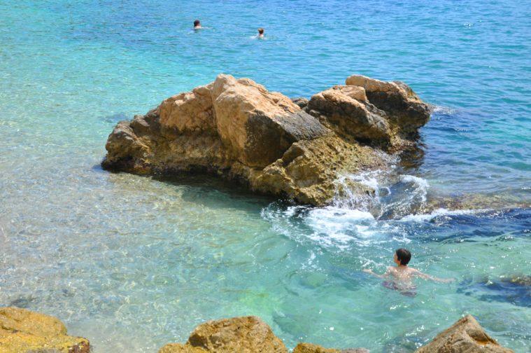 Villefranche sur Mer sten