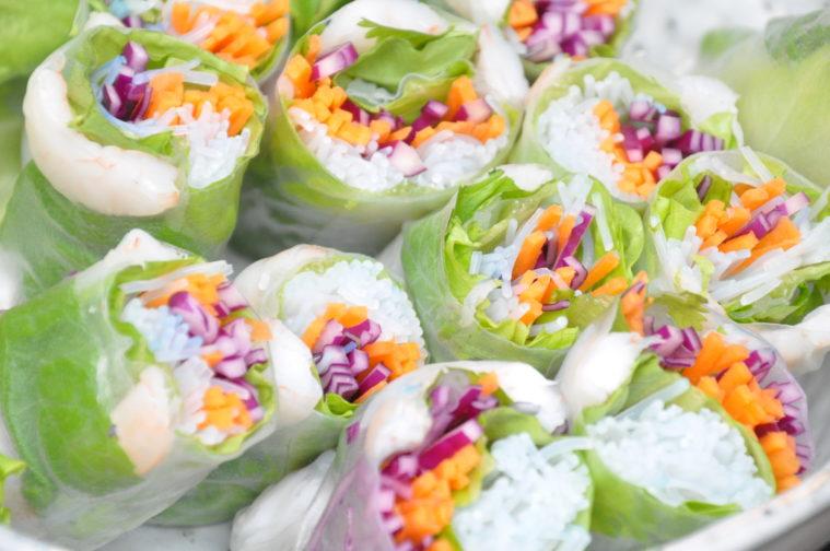 Vietnamesiska vårrullar dippsåser