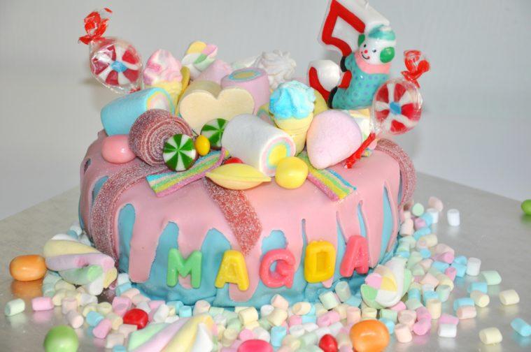 marshmallows fluff till tårta