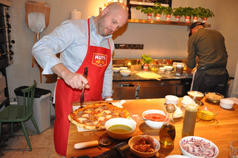 Mutti pizza workshop 800 grader