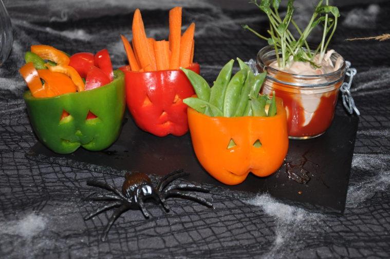 Halloween paprika mellis