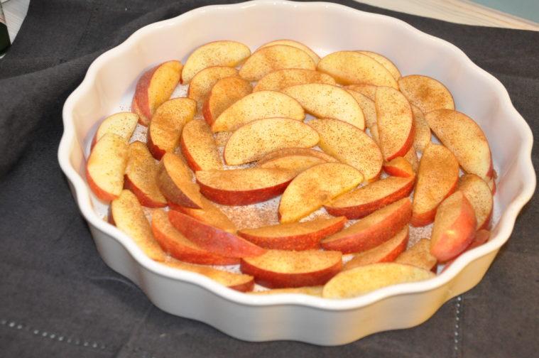 Äppelkaka äppelpaj  mjölkfri glutenfri