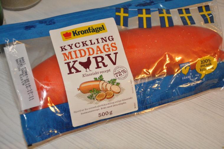 Middagskorv Kyckling