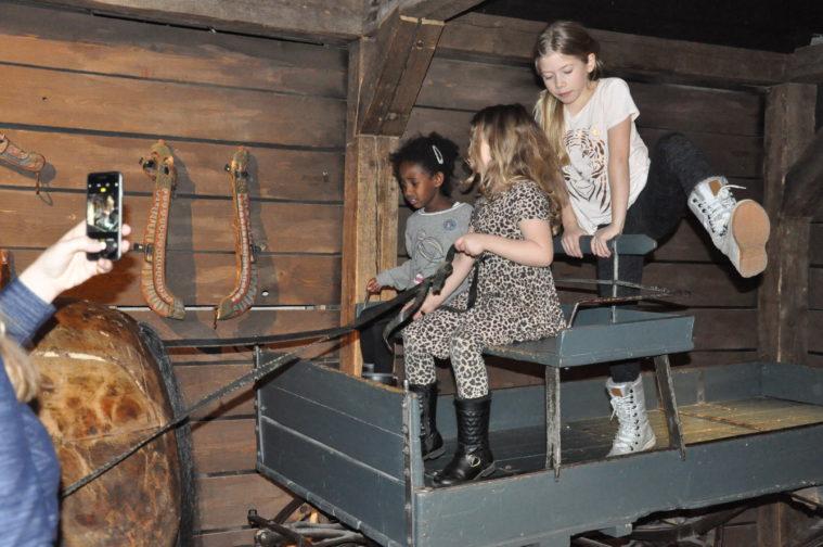 Nordiska Museet med barn