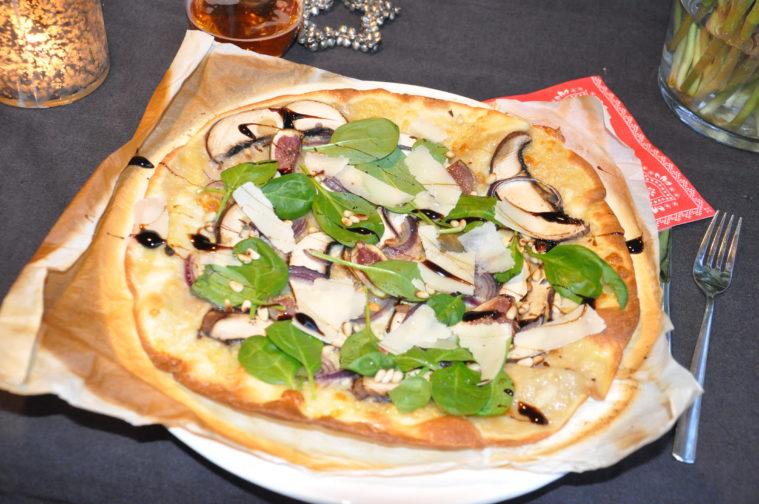 pizza bianco premium pizza fikon portabello