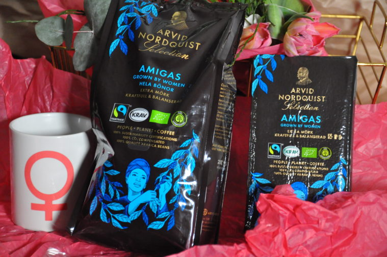 Amigas kvinnokaffe kaffeodlingar som drivs och ägs av kvinnor Arvid Nordquist