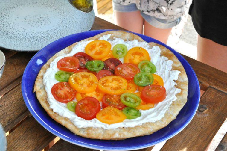 Tomattårta tomat tarte färskost