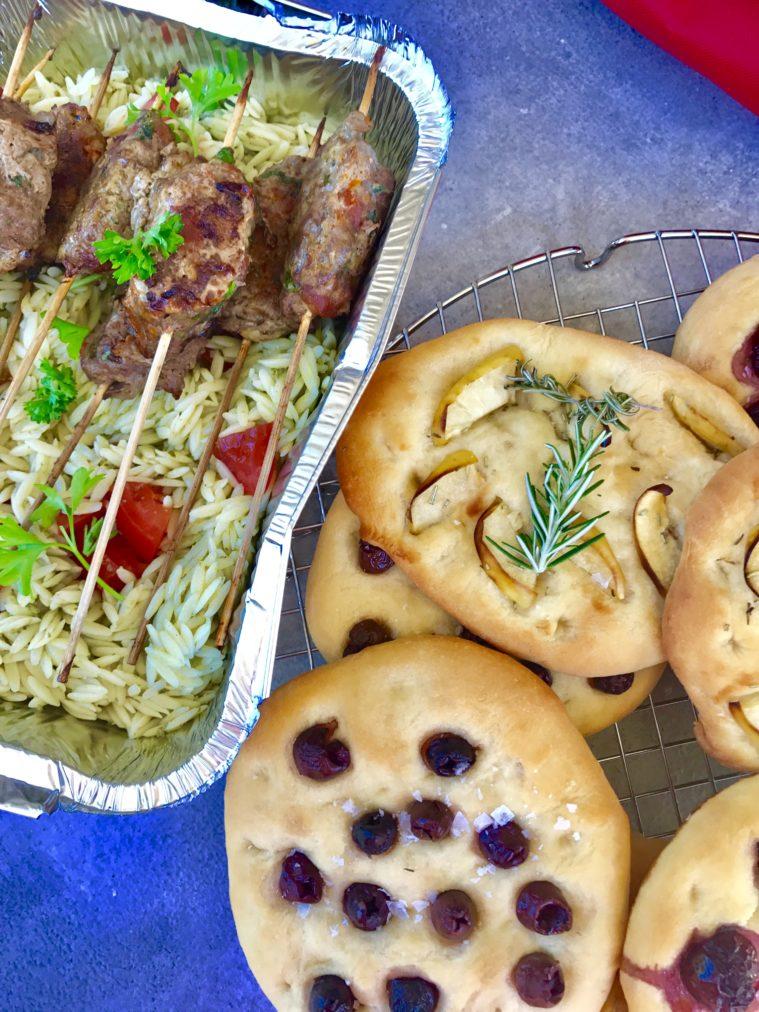 Spett med färs och chorizo picknickmat utflykt picknick