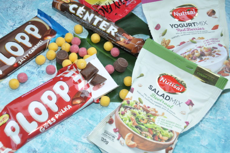Nyheter från Cloetta plopp polka salted caramel Center Cappucino crazy face