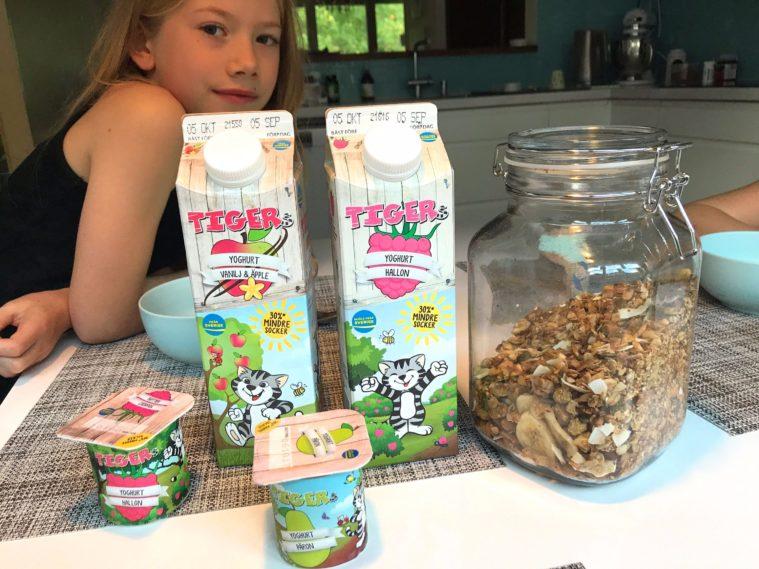 Tigers Yoghurt frukost