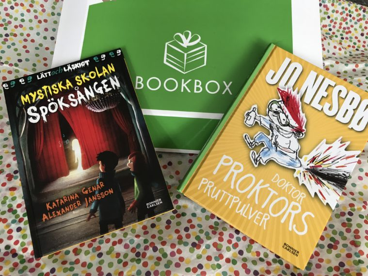 BookBox Kids Bonniers Jo Nesbo
